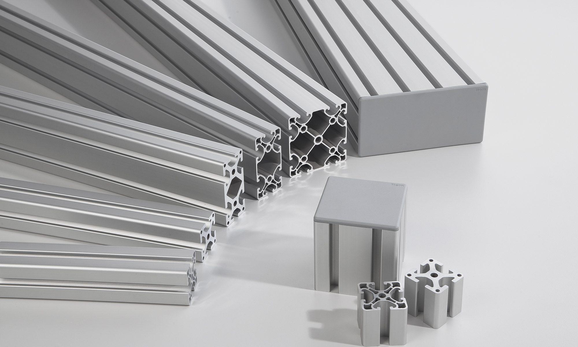 Aluminium profiles in specialist mechanical engineering – ideas and