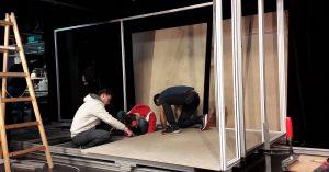Imponująca technika sceniczna w teatrze Lechthaler-Belic w Grazu