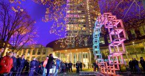 GLOW-Festival: Bewegung in Licht umsetzen
