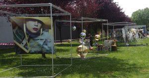 Güterhallenfest a Solingen: con i profili all'interno di un cubo