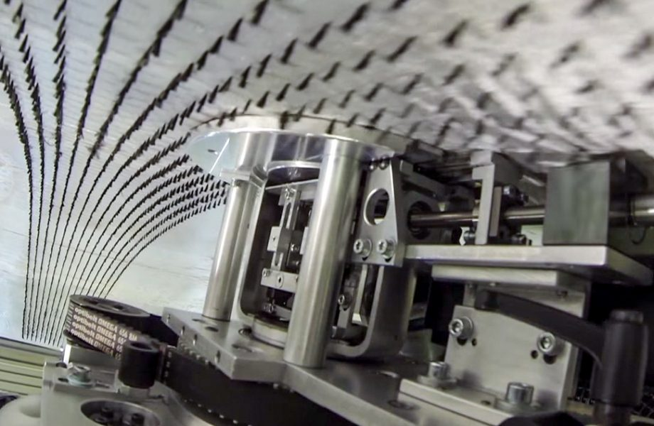 An innovative sewing machine for the aerospace industry