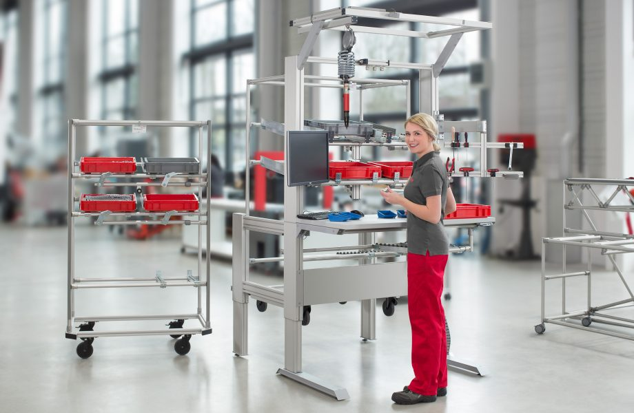 How ergonomics boosts the efficiency of industrial work benches