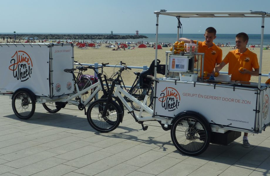 Juice on Wheels: Heading to Paris to save the climate