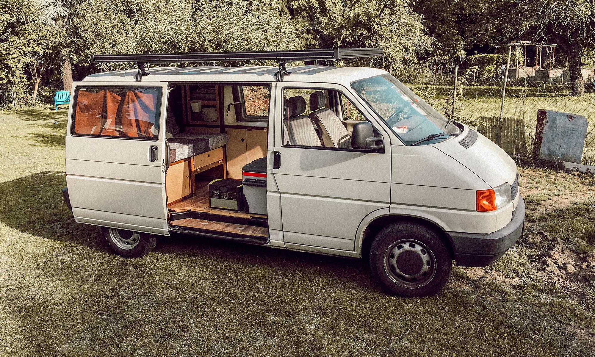 Van Roof Racks >> An Aluminium Roof Rack A Must Have For Your Vw Camper Van