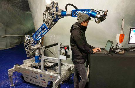 CHIRON: Ein Baustellen-Roboter bereit fürs Weltall