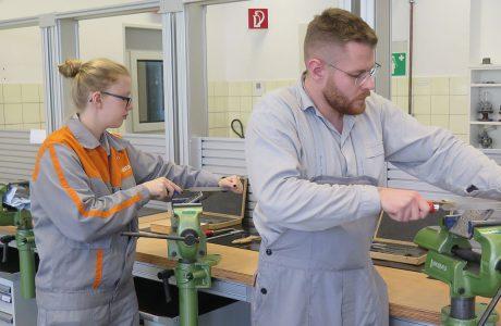 Flexible Industriearbeitsplätze für den CURRENTA-Bildungscampus