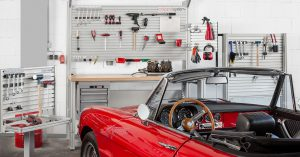 Tidying up the workshop – bringing order with a system