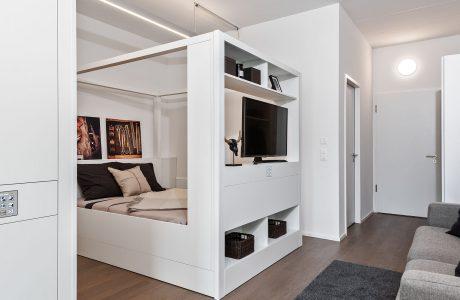Modulares Raumkonzept für flexibles Wohnen