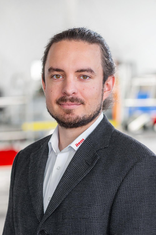 Produktmanager Marco Niechwietz
