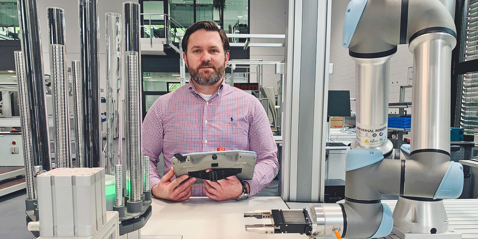 Alt-Texte: Mensch-Roboter-Kollaboration: Vorteile von Cobots in der Industrie