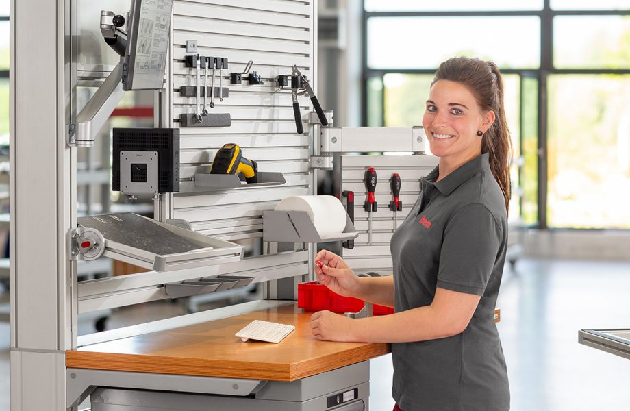 New study – work bench design in manual production