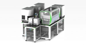Automated analysis of up to 10,000 coronavirus tests per day