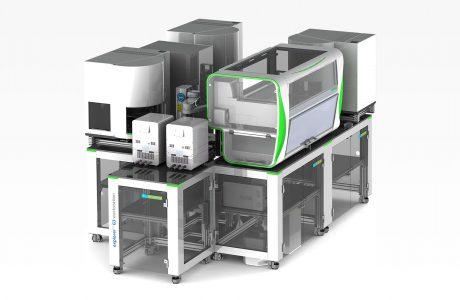 Corona-Tests automatisiert auswerten – bis zu 10.000 am Tag