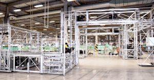 Karakuri/LCA for transporting materials in small car production