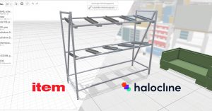 Virtual reality in industry – production planning with Halocline
