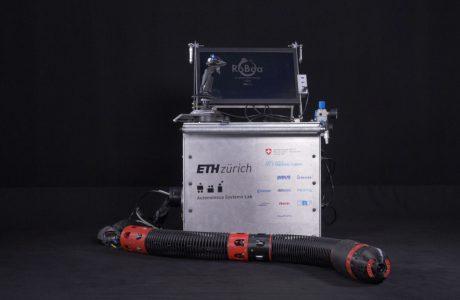 Innovativer Roboter im Erdbeben-Einsatz