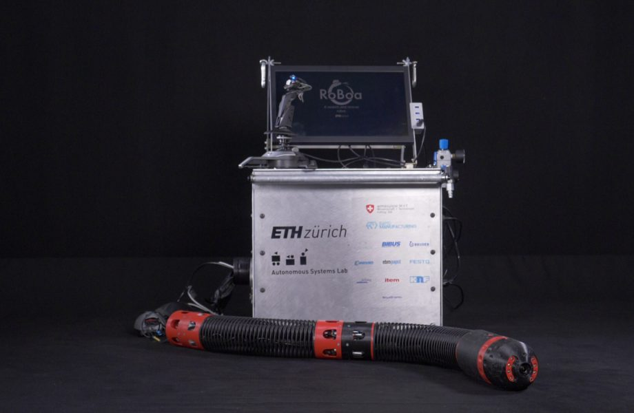 Innovative robot helps out during earthquakes
