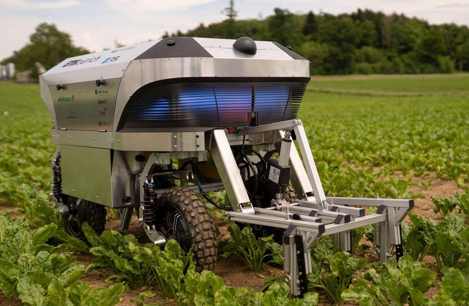 Autonomous weeding robot – for a future without herbicides