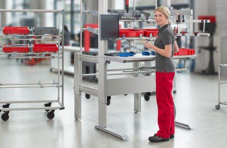 Die 9 häufigsten ergonomischen Lösungen in der manuellen Fertigung