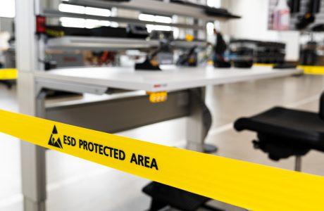 ESD-Arbeitstisch: Sicher, einfach und schnell geplant