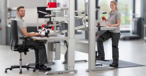 Plan industrial work benches efficiently in the Work Bench Configurator