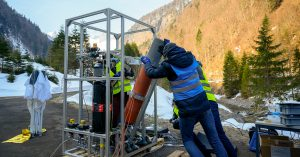 Swiss students spearhead innovative space research