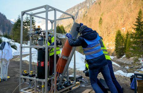 Innovative Weltraumforschung von Schweizer Studierenden